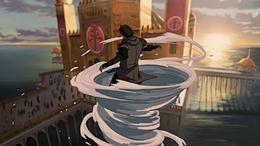 Amon haciendo Agua Control