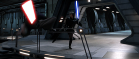 Anakin kicks