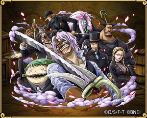 CP9 in the One Piece Treasure Cruise