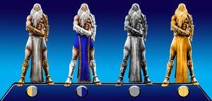 Default Costume Colors of Zeus in PSASBR