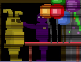 Five Nights at Freddy s 4 Secret Purple Man Easter Egg Minigame FNAF 4 YouTube