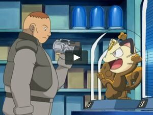 J's Henchman and Meowth.