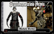 Machete Worker zombot