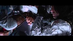 Captain America vs The Winter Soldier HD - End Fight