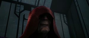Darth Sidious laughs