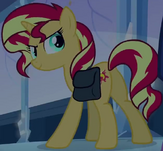 Sunset Shimmer pony id Equestria Girls