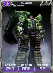 (Decepticons) Scavenger - Robot