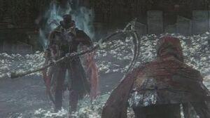 Bloodborne Gehrman, the First Hunter Boss Fight (1080p)