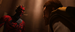 Darth Maul berates