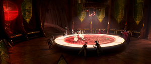 Dooku Geonosian war room