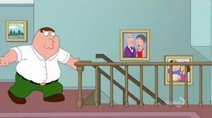 Family Guy - Peter falls down the stairs