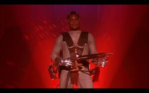 Fireball, a Stalker (Running Man, movie)