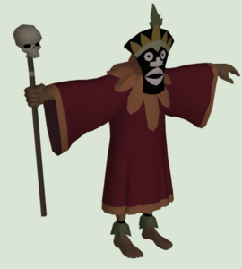 Hawwian Witch Doctor