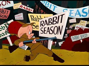 Looney Tunes - rabbit seasoning