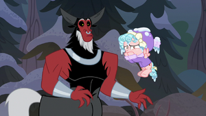 Tirek surprised; Cozy Glow disgusted S9E8