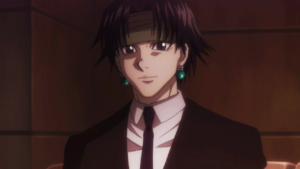 51 - Chrollo smiling