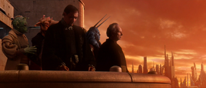 Chancellor Palpatine senators