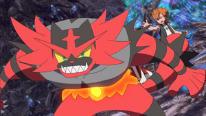 Cross Incineroar