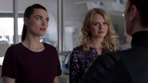 Eve and Lena are warned about the goverment