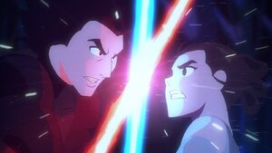 Kylo and Rey - Galaxy of Adventures