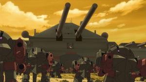 Longdan Mobile Fortress (Code Geass Anime)