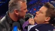 Shane McMahon Attacks Ring Announcer Greg Hamilton WWE SmackDown Live 12 March 2019