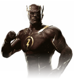 The flash injustice 2 render