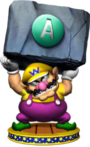 Wario Artwork - Mario Party 5