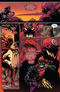 Cletus Kasady (Earth-616), Grendel (Klyntar) (Earth-616) John Jonah Jameson III (Earth-616) Deadpool (Earth-616) from Absolute Carnage vs. Deadpool 0001