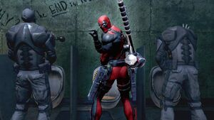 Deadpool going
