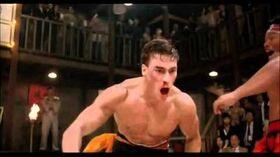 Jean-Claude Van Damme Bloodsport Final Fight (1988) - High Quality