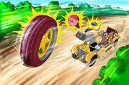 Kirby Wheel FakeKirbyShow