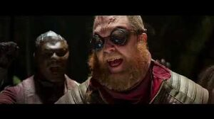 Rocket Makes Fun of TaserFace in front of Ravegers Funny Scene Credit to Guardians of the Galaxy Vo