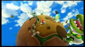 Super Mario Galaxy 2 Boss 1 - Peewee Piranha