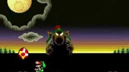 Final boss- Super Mario world 2 Yoshi's Island