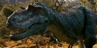 Gorgosaurus face