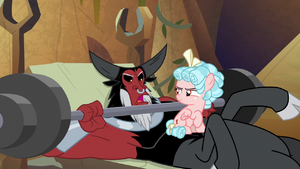 Lord Tirek 'no, he didn't' S9E8