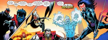 Nightcrawler vs. X-Men Nightcrawler -8