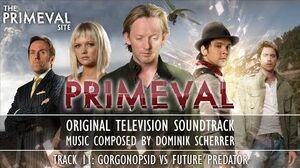 Primeval Original Television Soundtrack - Gorgonopsid vs Future Predator (Track 11)