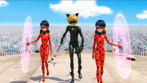 Senti-Ladybug and Ladybug