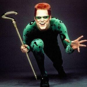 The Riddler Jim Carrey