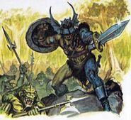 Warduke leads lizardfolk