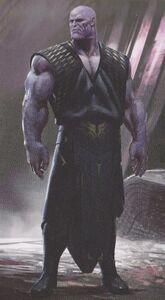 Avengers Infinity War Thanos concept art 15