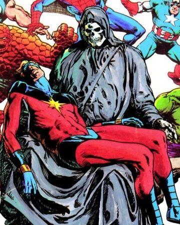 deadpool and death love