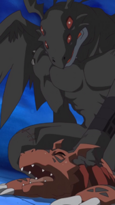 Devidramon vs Guilmon