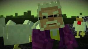 Minecraft Story Mode - Zombie-sized Chicken