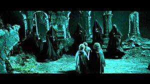 Aragorn vs Nazgul LOTR 1