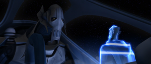 Count Dooku Grievous call