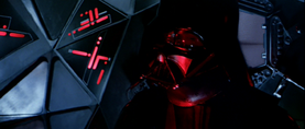 Darth Vader exclaims