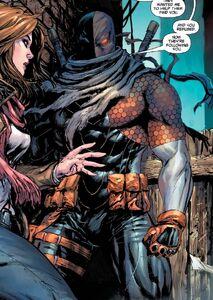Deathstroke find Lois Lane